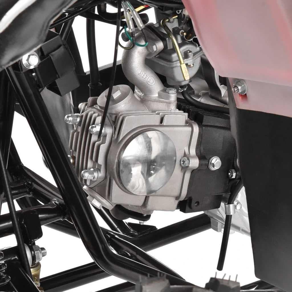 Hecht 56125 Red Quad Akumulatorowy Samochód Terenowy Auto Jeździk Pojazd - 14