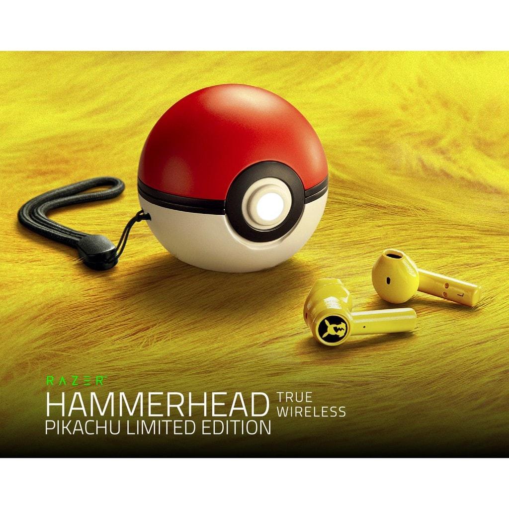 POKEMON RAZER HAMMERHEAD LIMITED EDITION TRUE WIRELESS Gold - 3