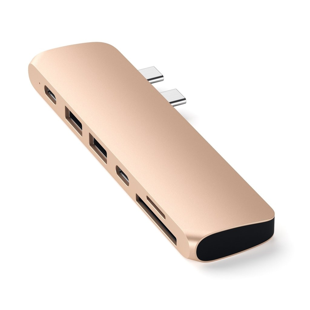 Satechi - Type-C Pro Hub Adapter - Gold - 4