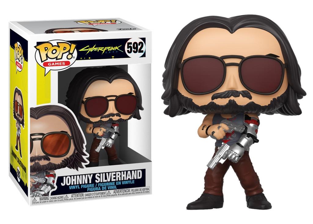 Figurka Johnny Silverhand 2 z serii Cyberpunk 2077 - Funko Pop! Vinyl: Gry - 1