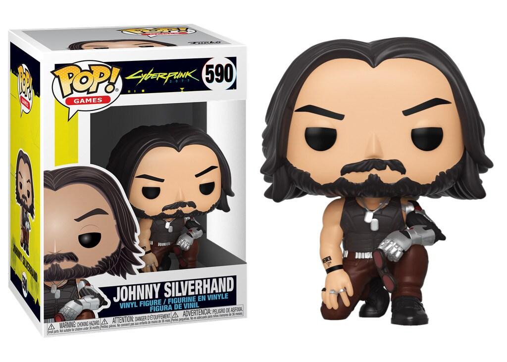 Figurka Johnny Silverhand z serii Cyberpunk 2077 - Funko Pop! Vinyl: Gry - 1