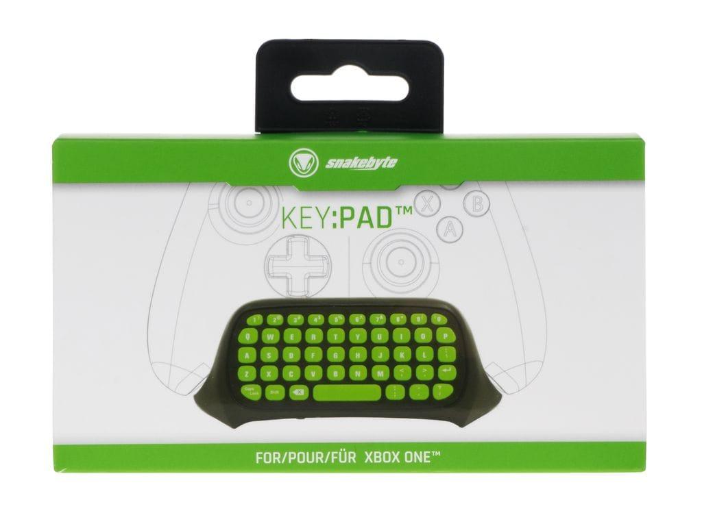 snakebyte KEY: PAD ™ ZIELONY (XBOX ONE) klawaitura / chatpad Xbox One - 5