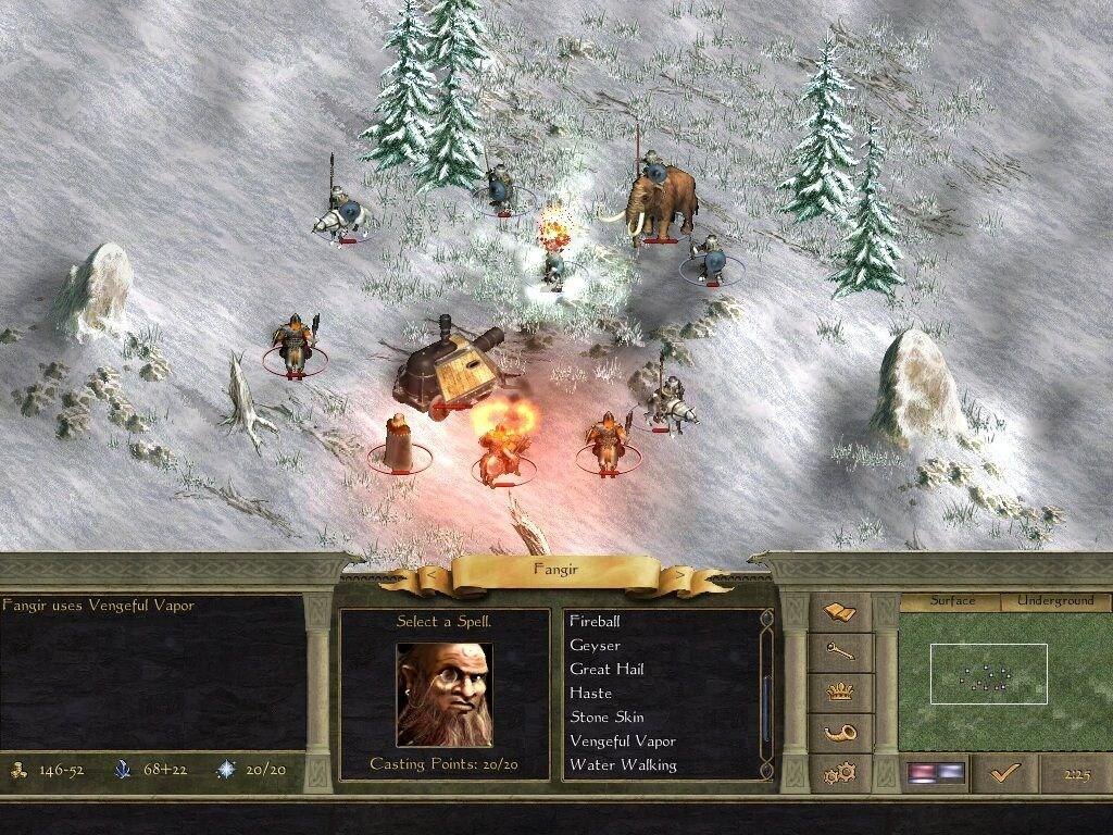 Age of Wonders II: The Wizard's Throne Steam Key GLOBAL - 4
