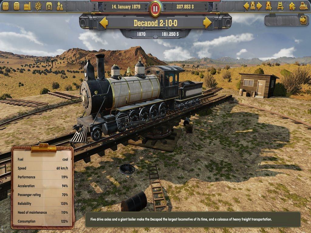 Railway Empire (PC) - Steam Key - GLOBAL - 4