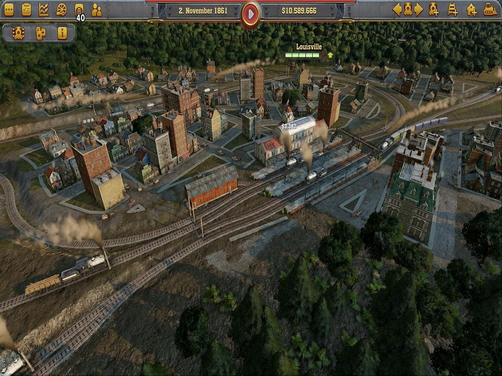Railway Empire (PC) - Steam Key - GLOBAL - 3