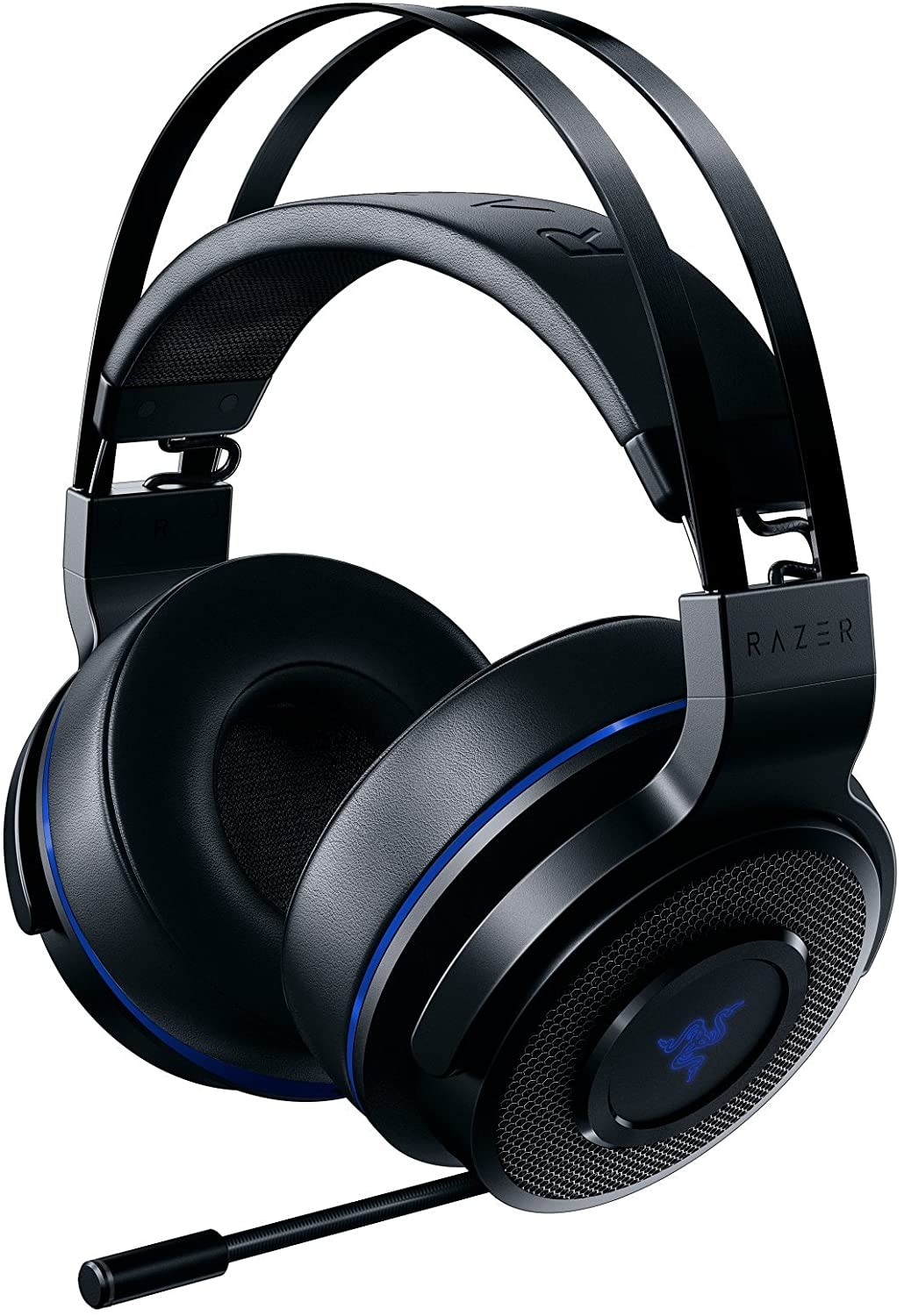 Razer Thresher 7.1 for PlayStation - Wireless Gaming Headset for PS4, PS5 and PC Wireless Headphones, Dolby 7.1 Black - 1