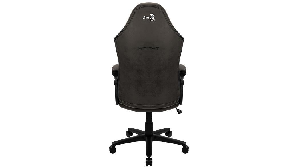 Aerocool KNIGHT Lite Universal gaming chair Padded seat Black - 2