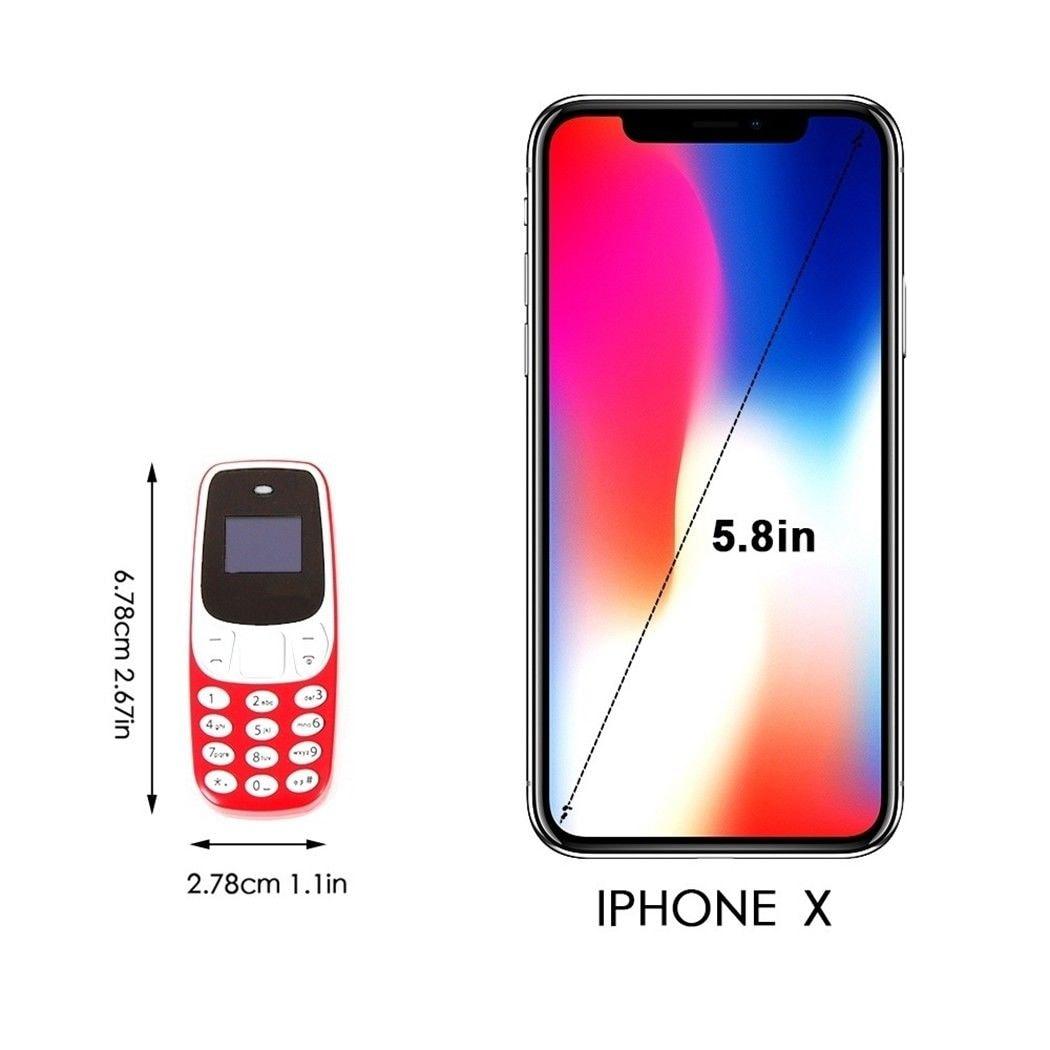 BM10 Pocket Mini GSM Mobile Phone Bluetooth Dialer Headset Cellphone Blue - 6