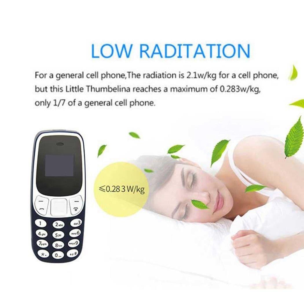 BM10 Pocket Mini GSM Mobile Phone Bluetooth Dialer Headset Cellphone Blue - 8