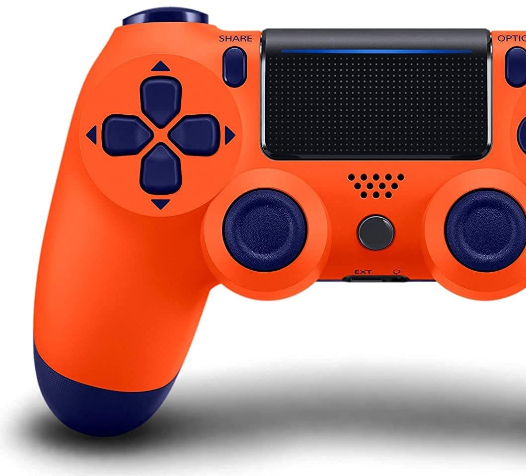 PS4 Controller Shock 4th Bluetooth Wireless Gamepad Joystick Remote Sunset Orange - 1