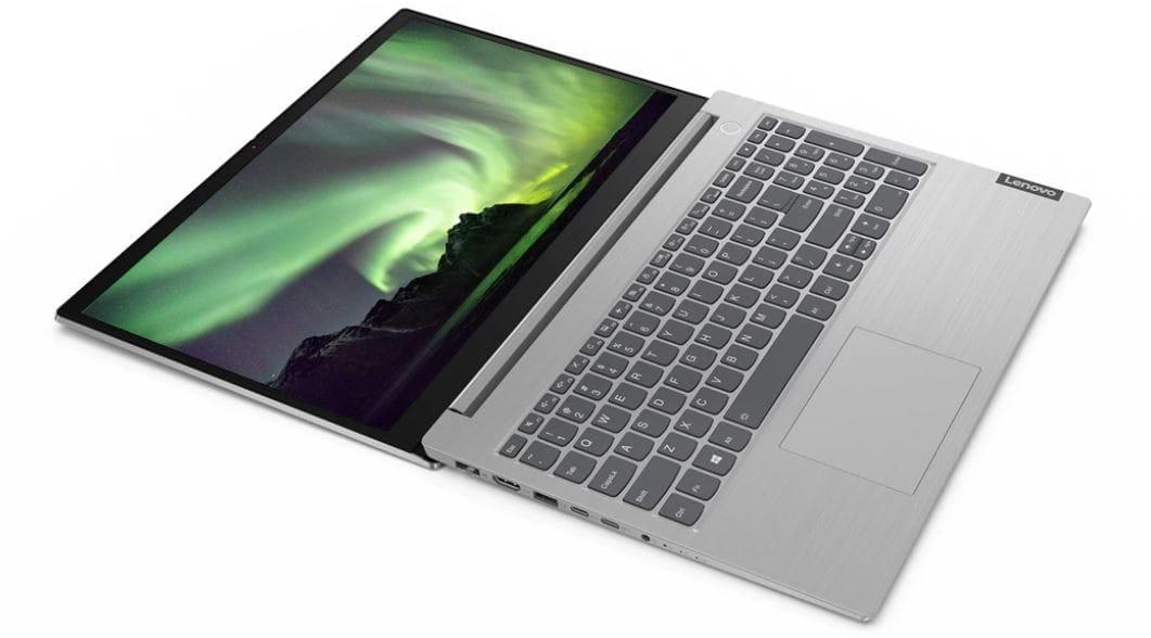 "Lenovo Laptop ThinkBook 15p 20V3000APB W10Pro i7-10750H/16GB/1TB/GTX1650Ti 4GB/15.6""/UHD/Mineral Gre - 4"