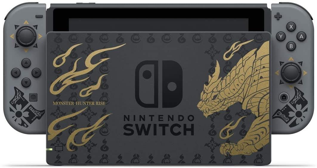Nintendo Switch V2 Monster Hunter Rise Edition Console Brand new Multi-Color 32 GB Standard - 5