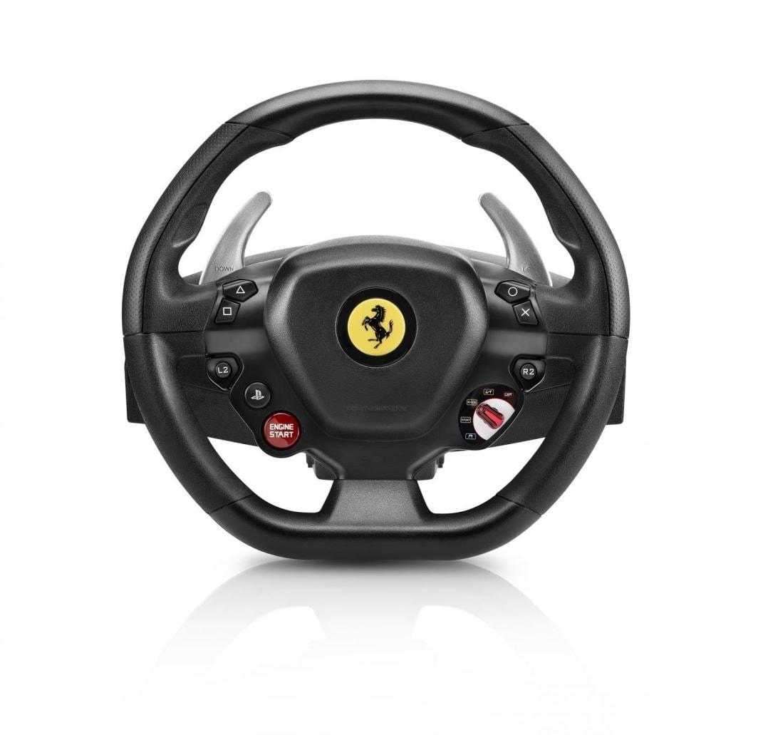 Thrustmaster Driving Wheel T80 Ferrari - GTB Edition (PC, PS4) - Black - 1