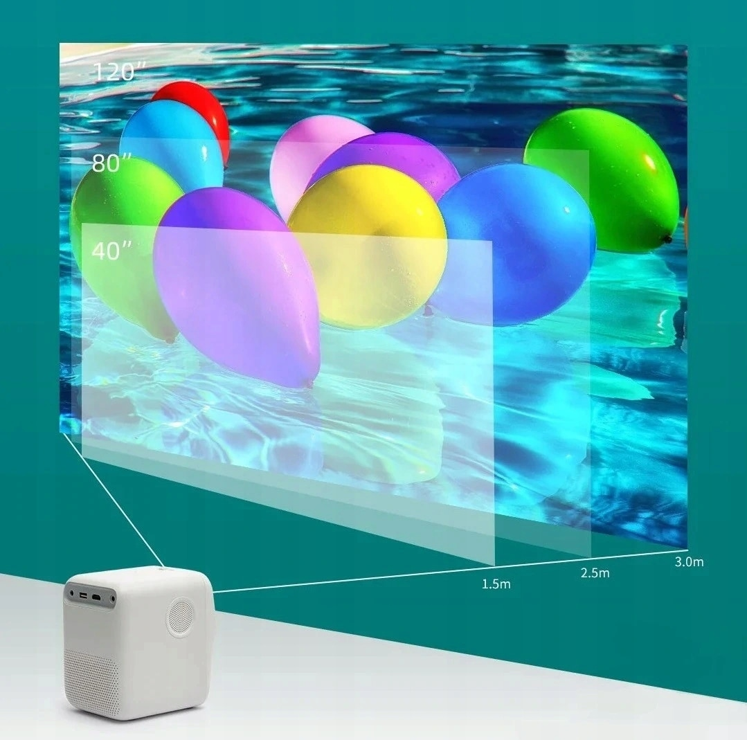 Xiaomi Wanbo Portable Projektor T2M 1080P Hdmi Usb - 4