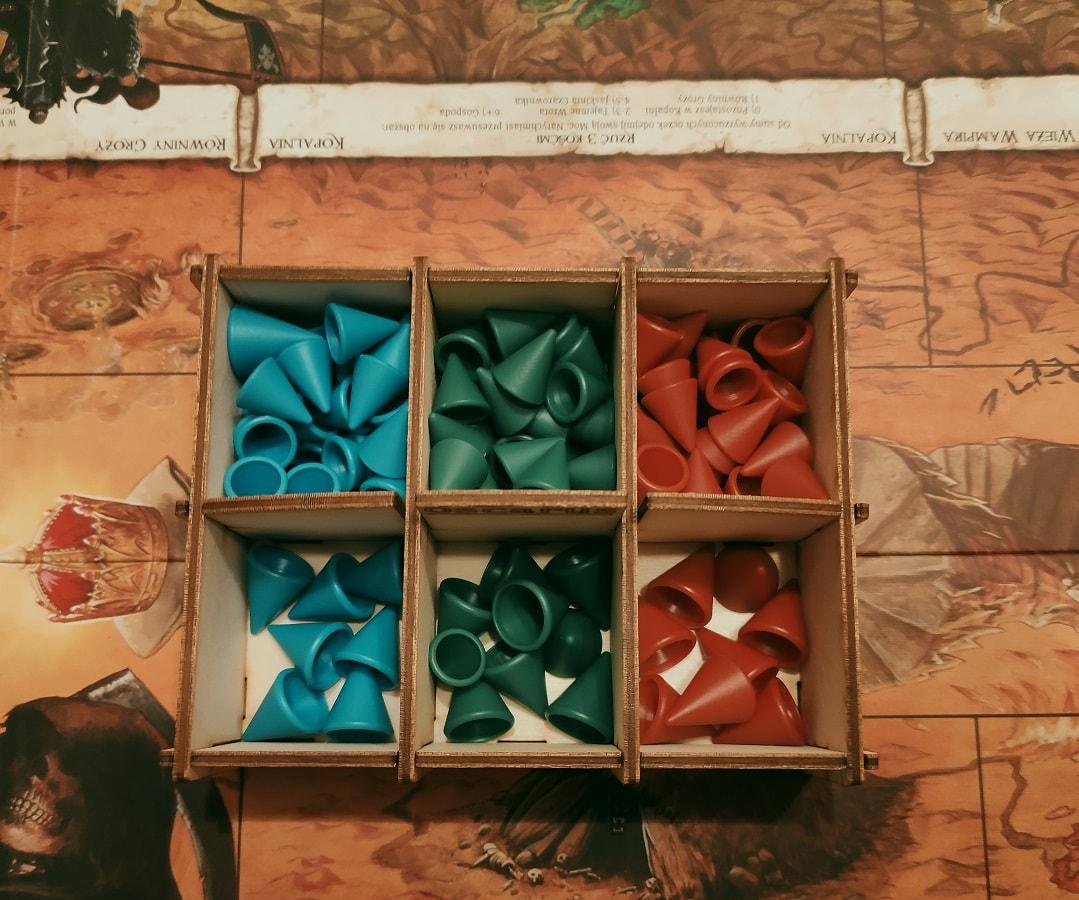 Board game tokens organizer - 3
