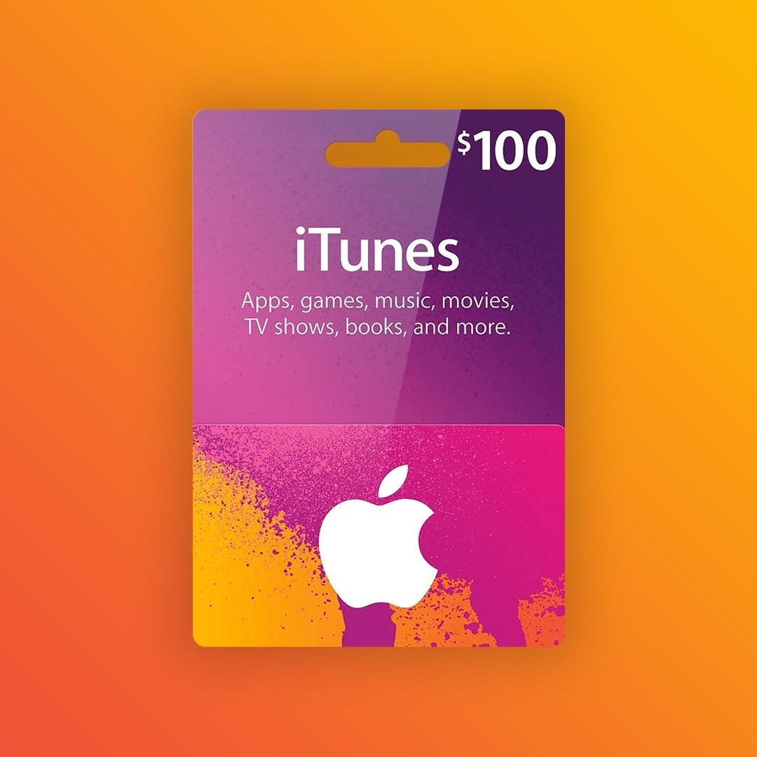 Apple iTunes Gift Card 100 USD iTunes NORTH AMERICA - 2