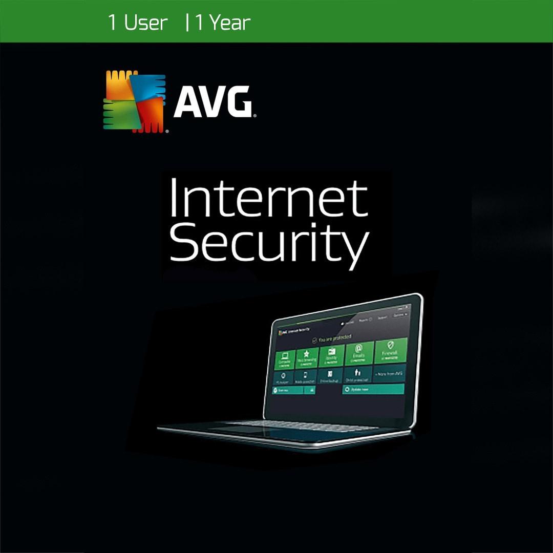 AVG Internet Security 1 User 1 Year AVG PC Key GLOBAL - 2
