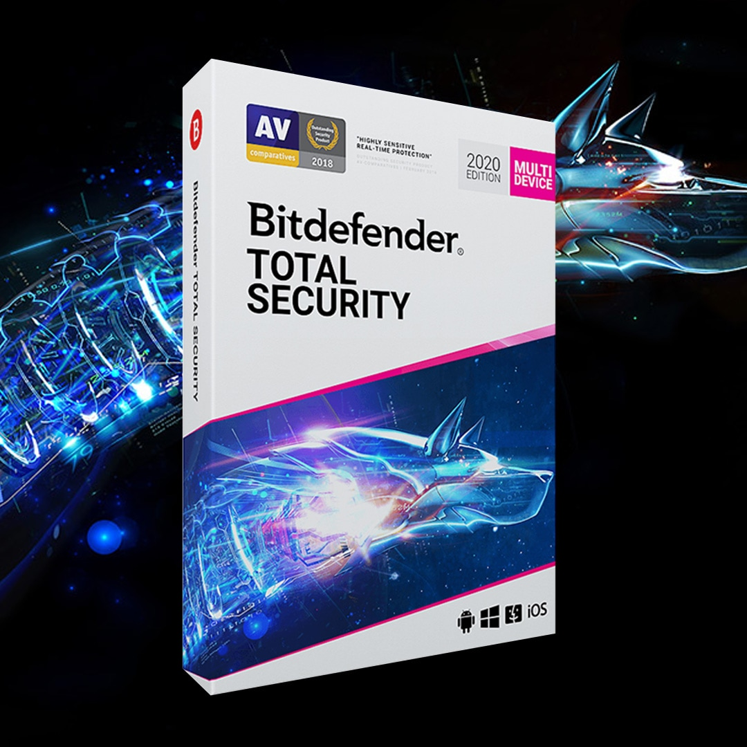 Bitdefender Total Security (5 Devices, 1 Year) - PC, Android, Mac, iOS - Key GLOBAL - 2