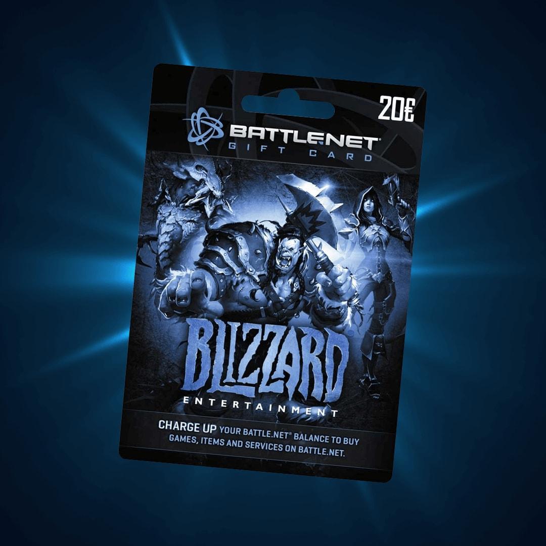 Blizzard Gift Card 20 EUR Battle.net EUROPE - 2