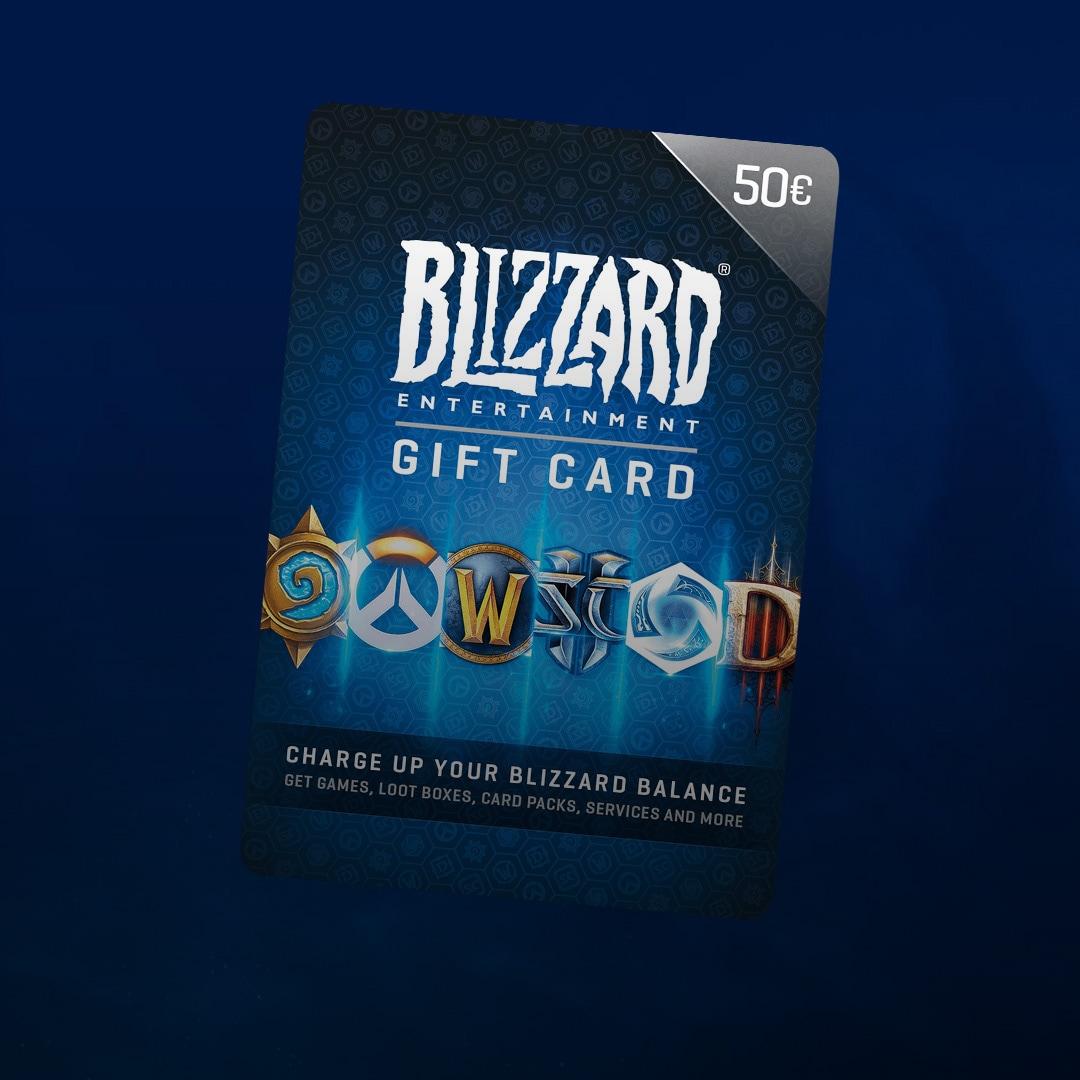 Blizzard Gift Card 50 EUR - Battle.net Key - EUROPE - 2