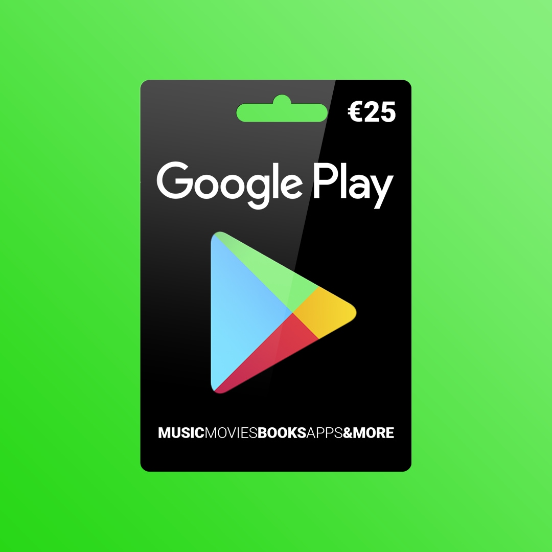 Google Play Gift Card 25 EUR EUROPE - 4