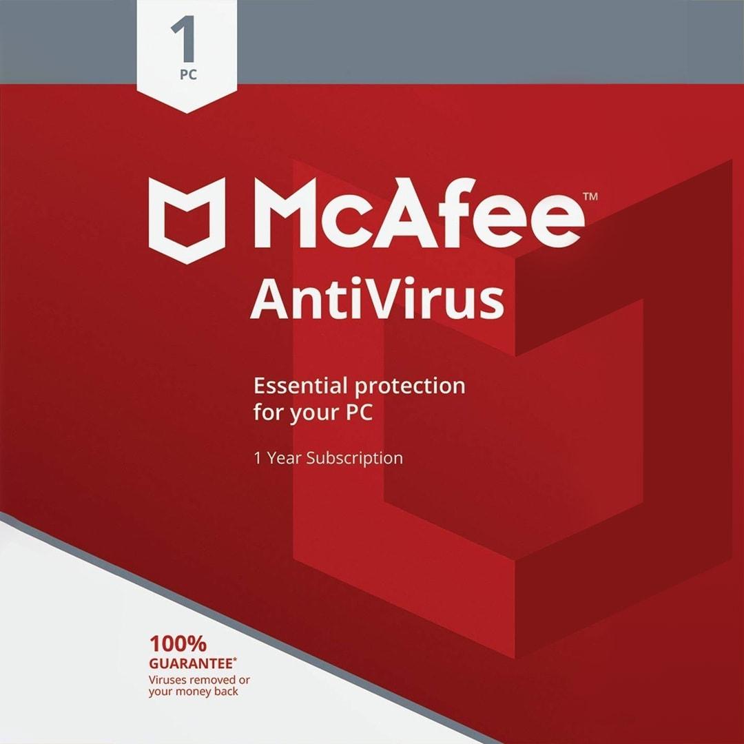 McAfee AntiVirus PC 1 Device 1 Year McAfee Key GLOBAL - 2