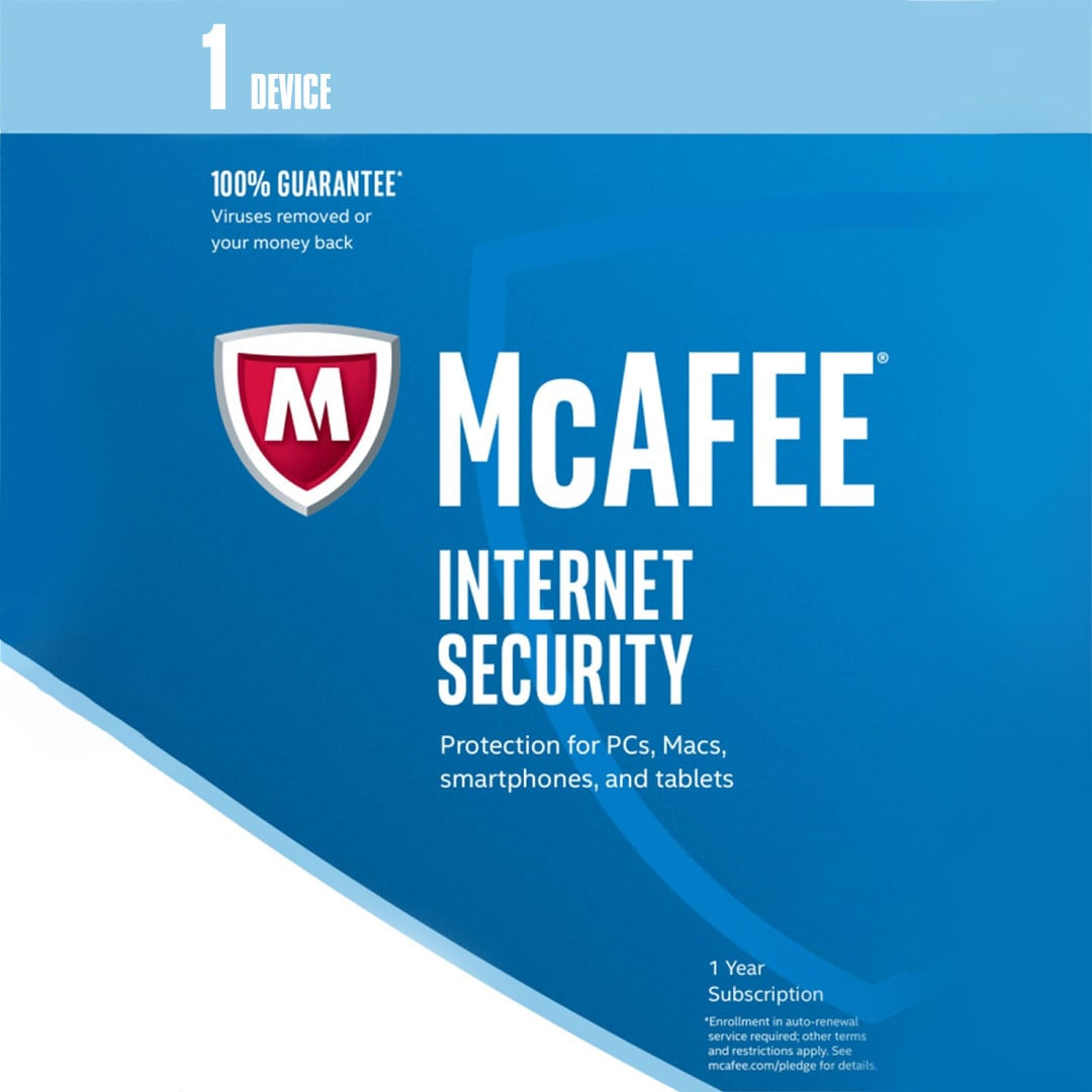 McAfee Internet Security 1 Device 1 Year Key GLOBAL - 2