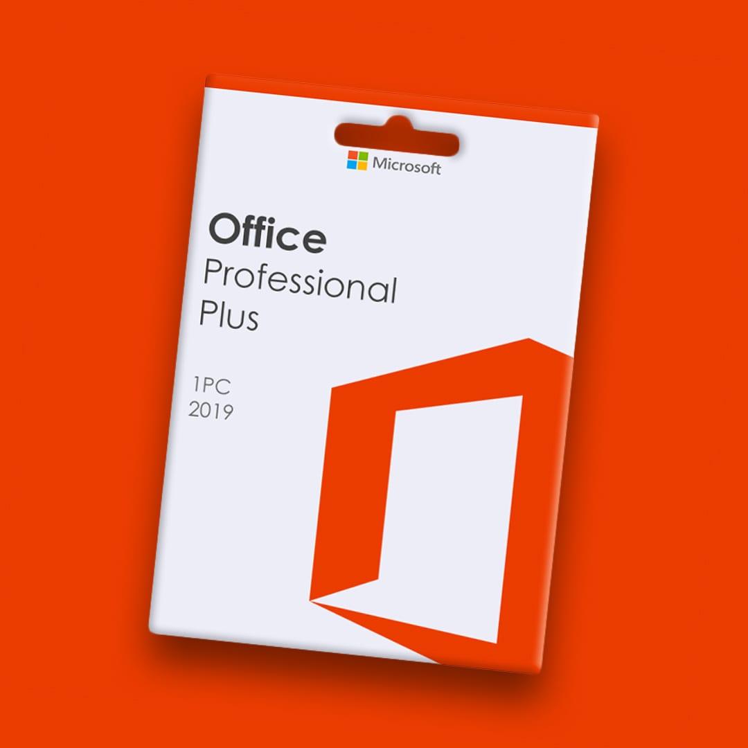 Microsoft Office Professional 2019 Plus 1 PC Microsoft Key GLOBAL - 2
