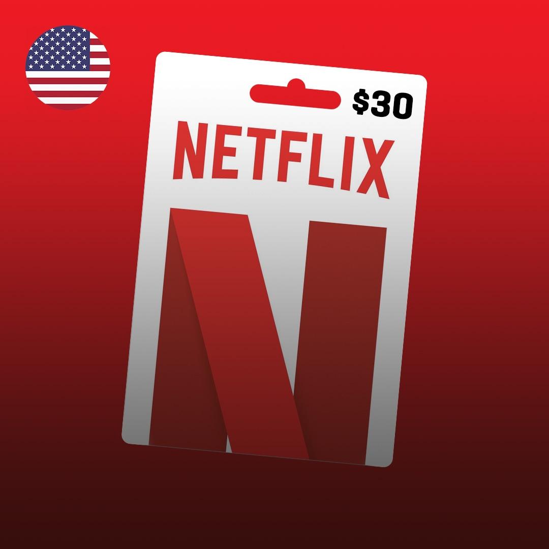 Netflix Gift Card 30 USD UNITED STATES - 2