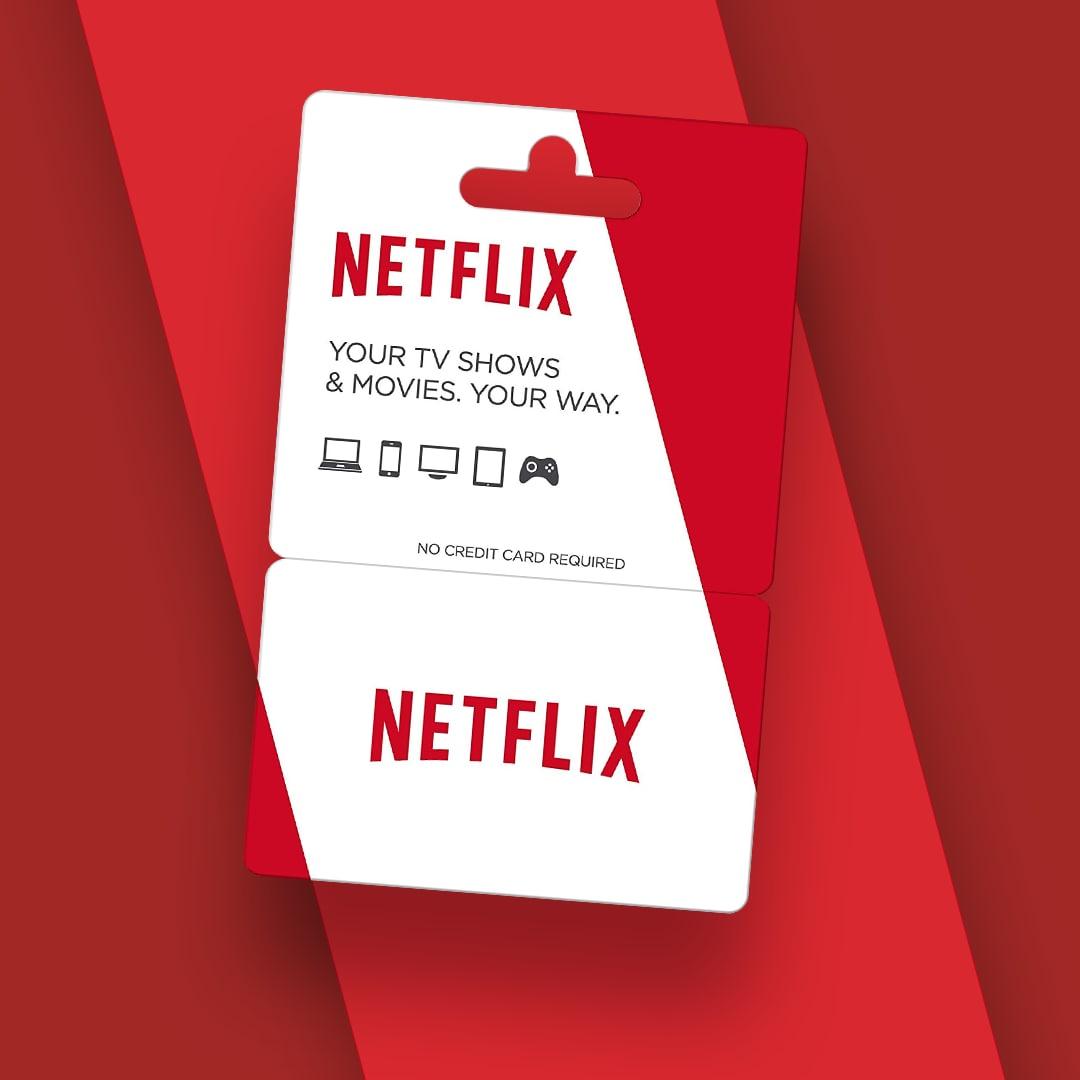 Netflix Gift Card 55.90 BRL - Netflix Key - BRAZIL - 2
