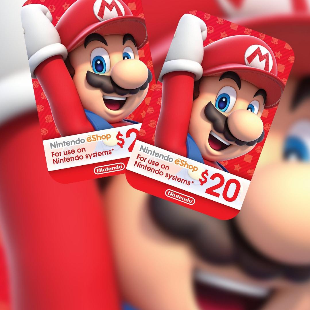 Nintendo eShop Card 20 USD Nintendo NORTH AMERICA - 2