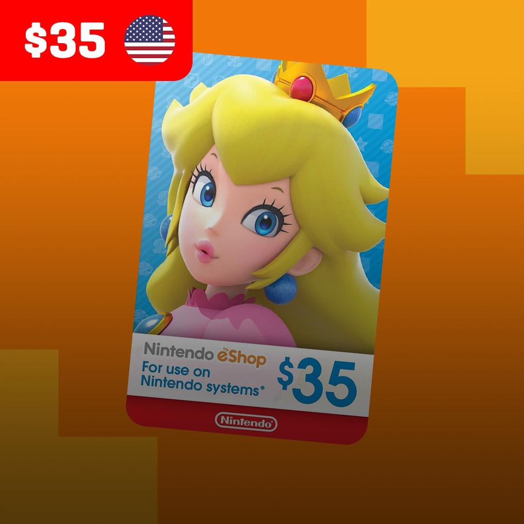 Nintendo eShop Card 35 USD Nintendo NORTH AMERICA - 2