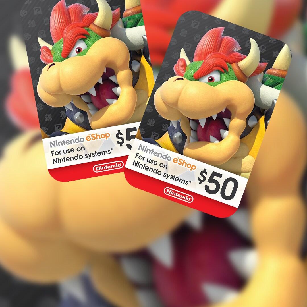 Nintendo eShop Card 50 USD Nintendo NORTH AMERICA - 2