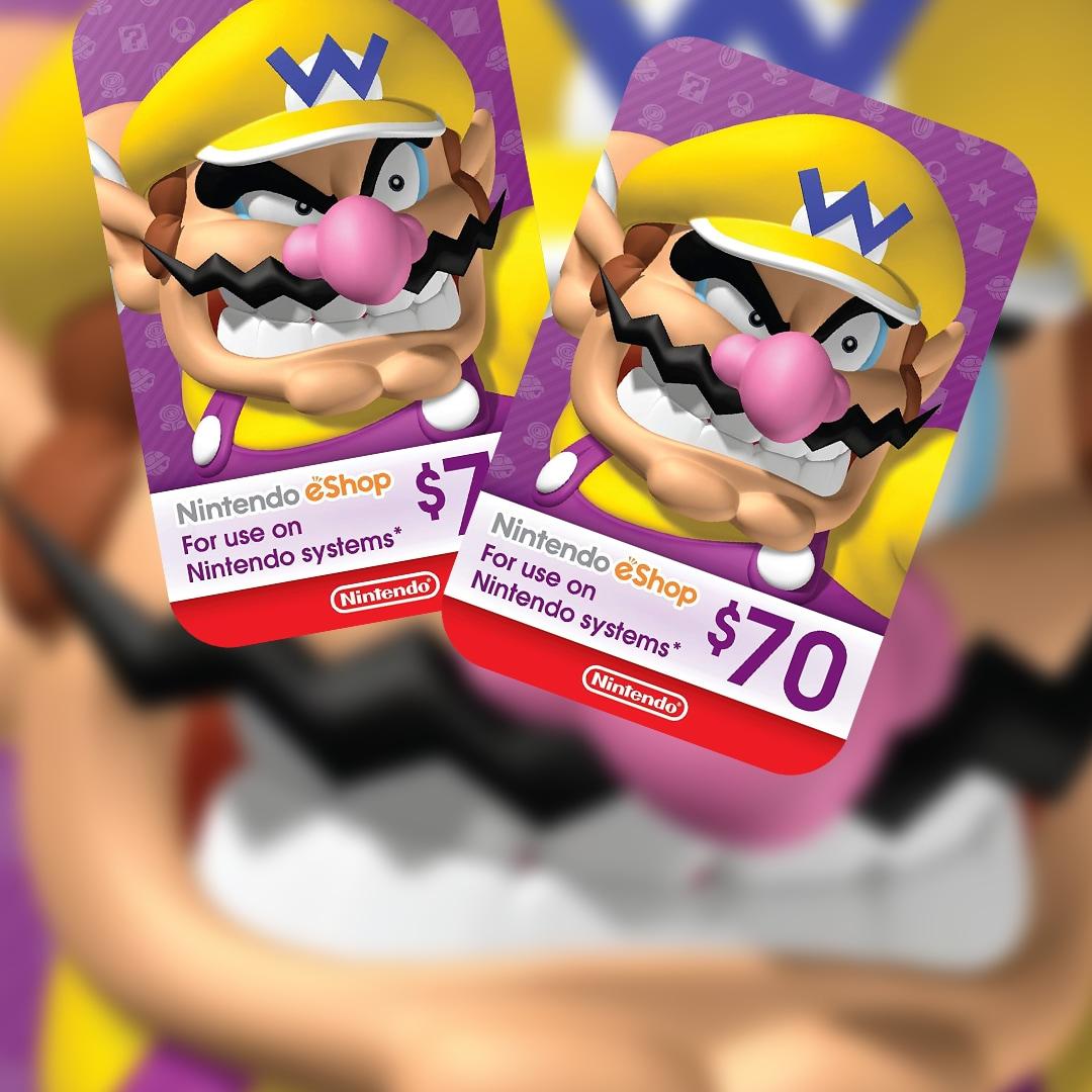 Nintendo eShop Card 70 USD Nintendo NORTH AMERICA - 2