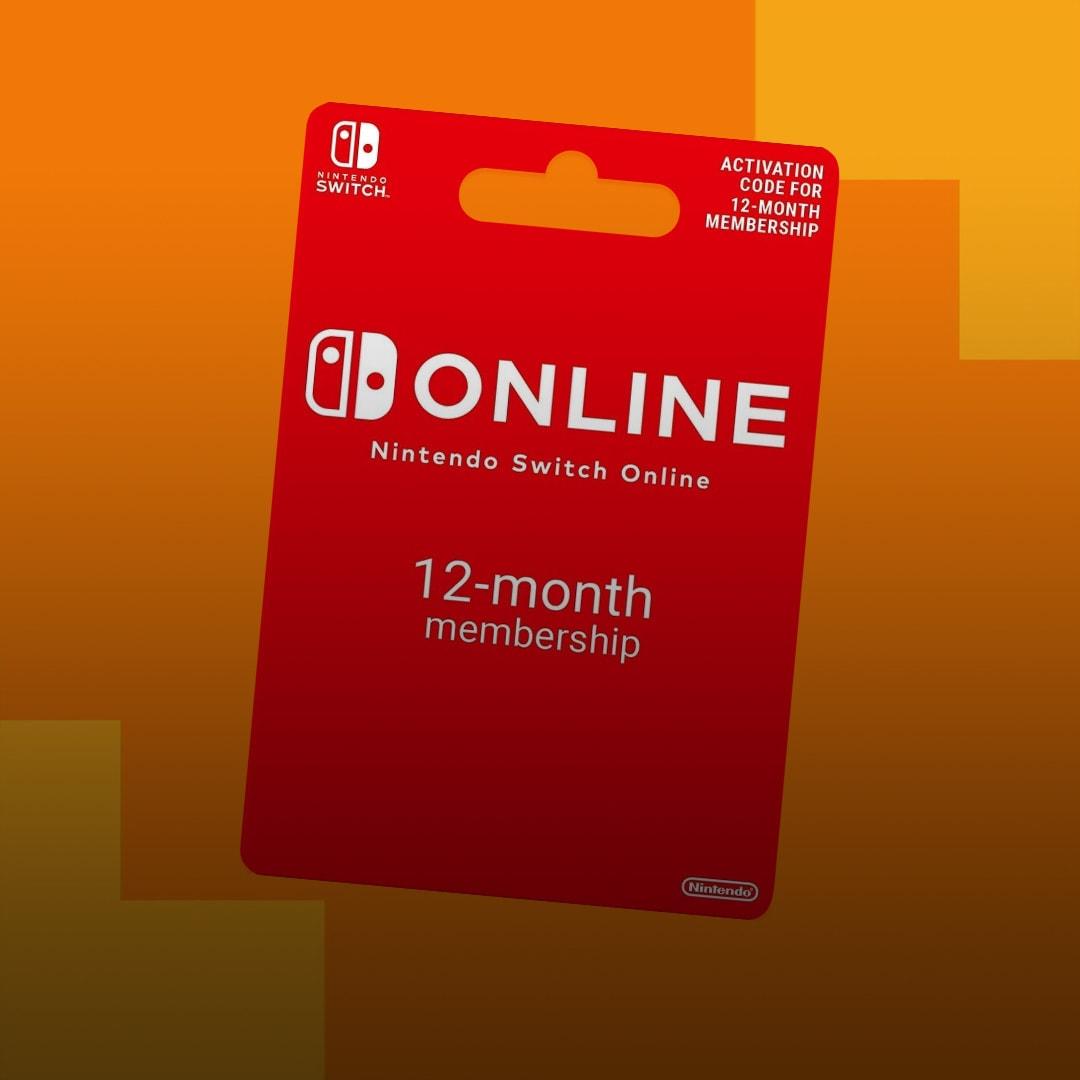 Nintendo Switch Online Individual Membership 12 Months EUROPE - 2
