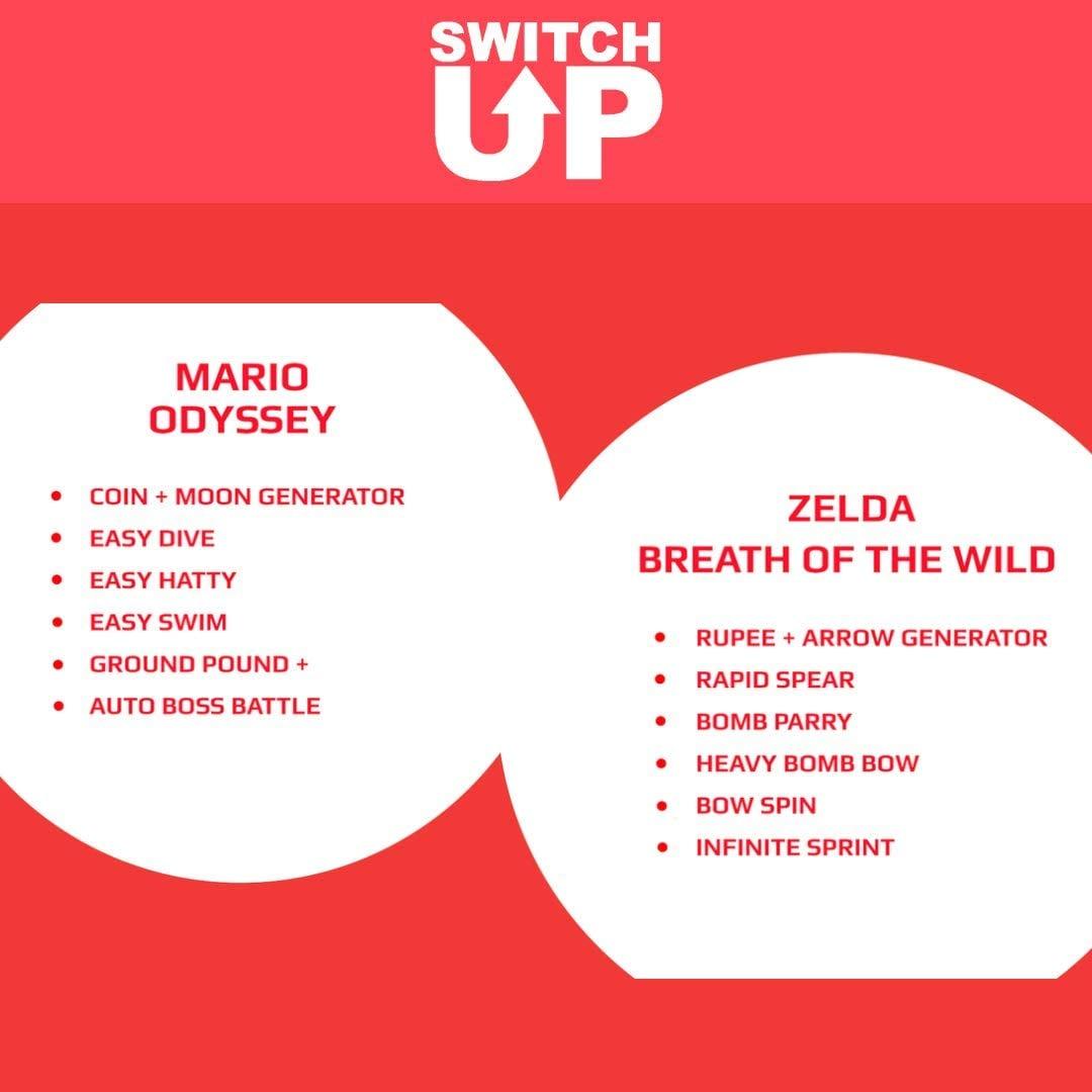 Nintendo Switch Up Game Enhancer v2.0 for PS4 XBOX Controller - For tnite MOD CRONUSMAX Gaming - 4