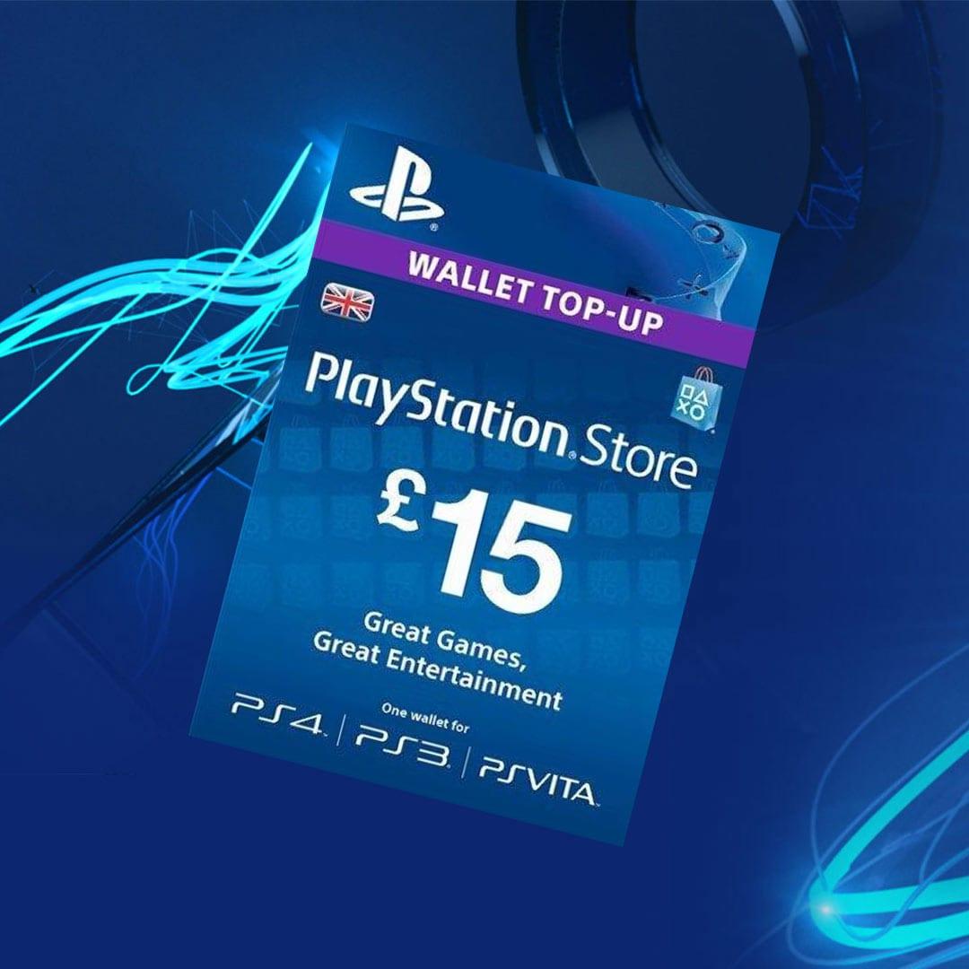 PlayStation Network Gift Card 15 GBP PSN UNITED KINGDOM - 3