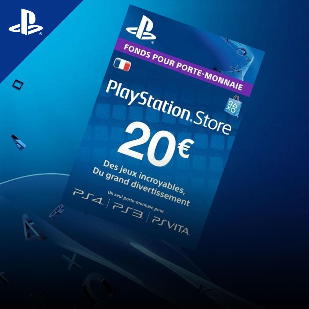 PlayStation Network Gift Card 20 EUR PSN FRANCE - 2