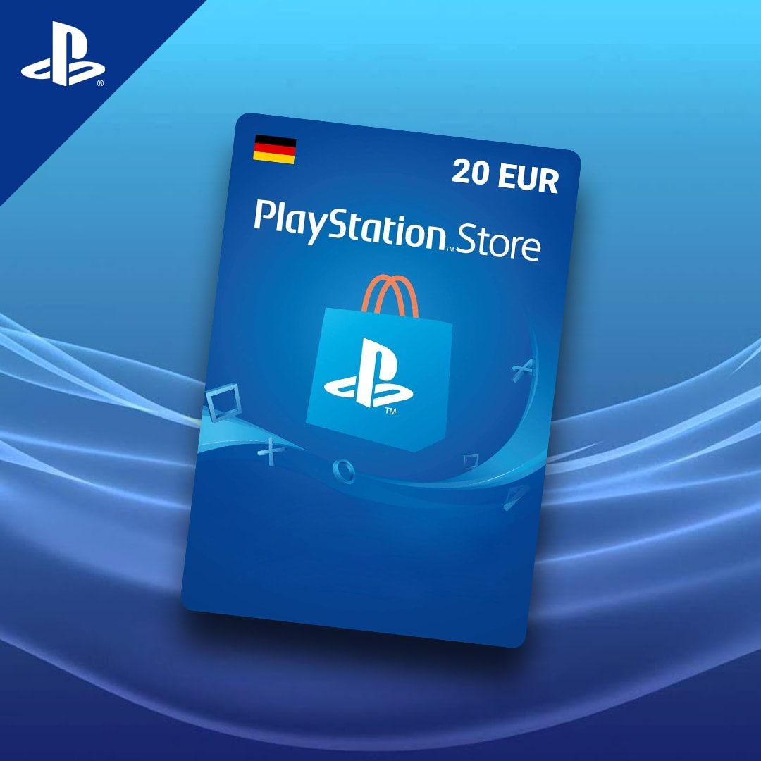 PlayStation Network Gift Card 20 EUR PSN GERMANY - 2
