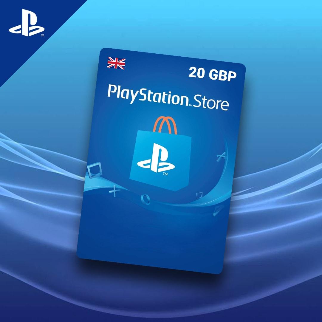 PlayStation Network Gift Card 20 GBP PSN UNITED KINGDOM - 3