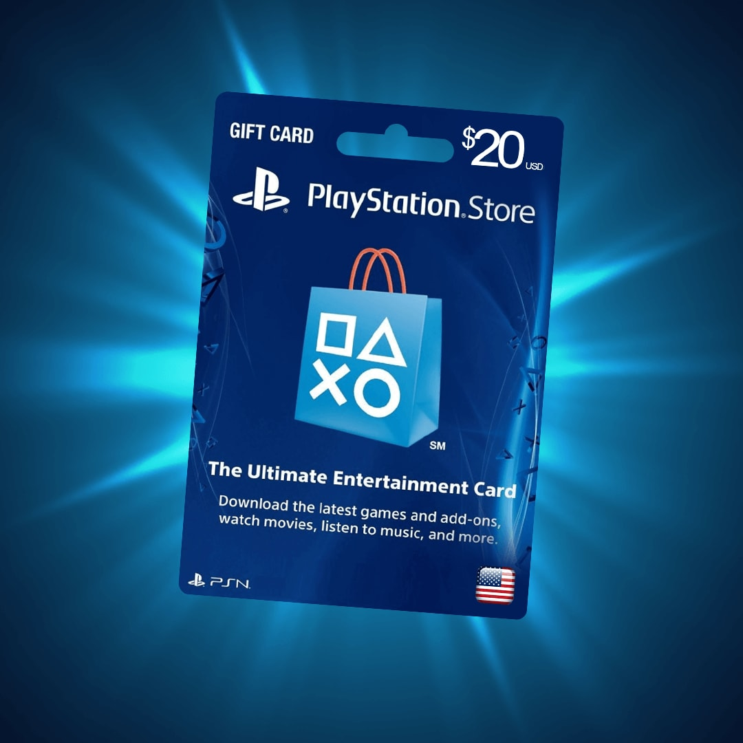 PlayStation Network Gift Card 20 USD PSN UNITED STATES - 3