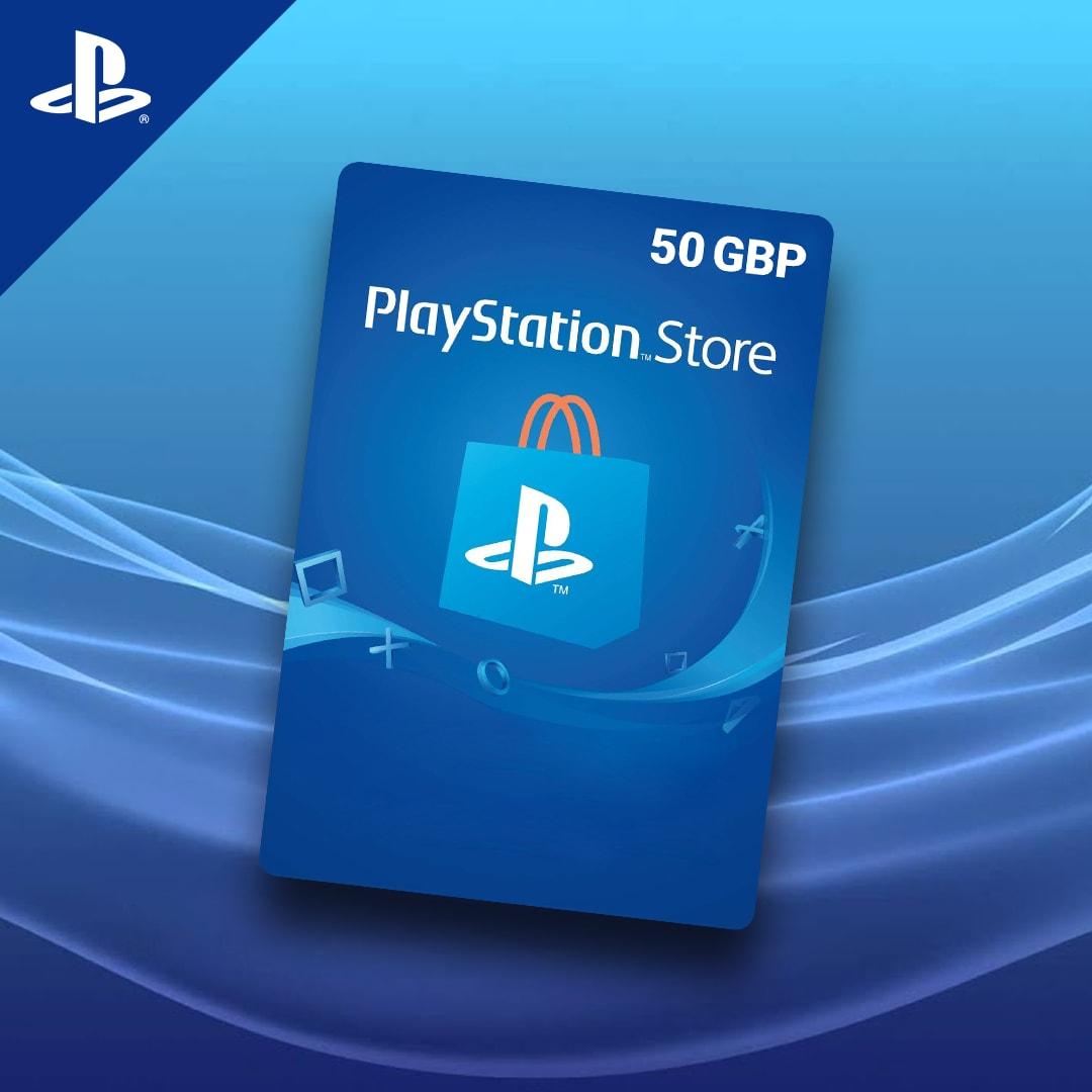 PlayStation Network Gift Card 50 GBP PSN UNITED KINGDOM - 2