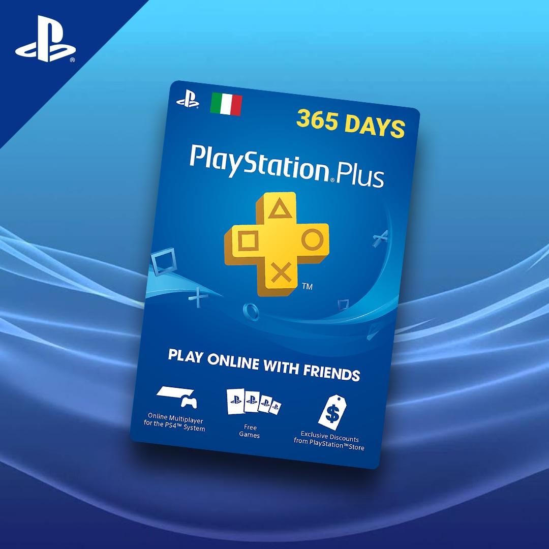 Playstation Plus CARD 365 Days PSN ITALY - 3