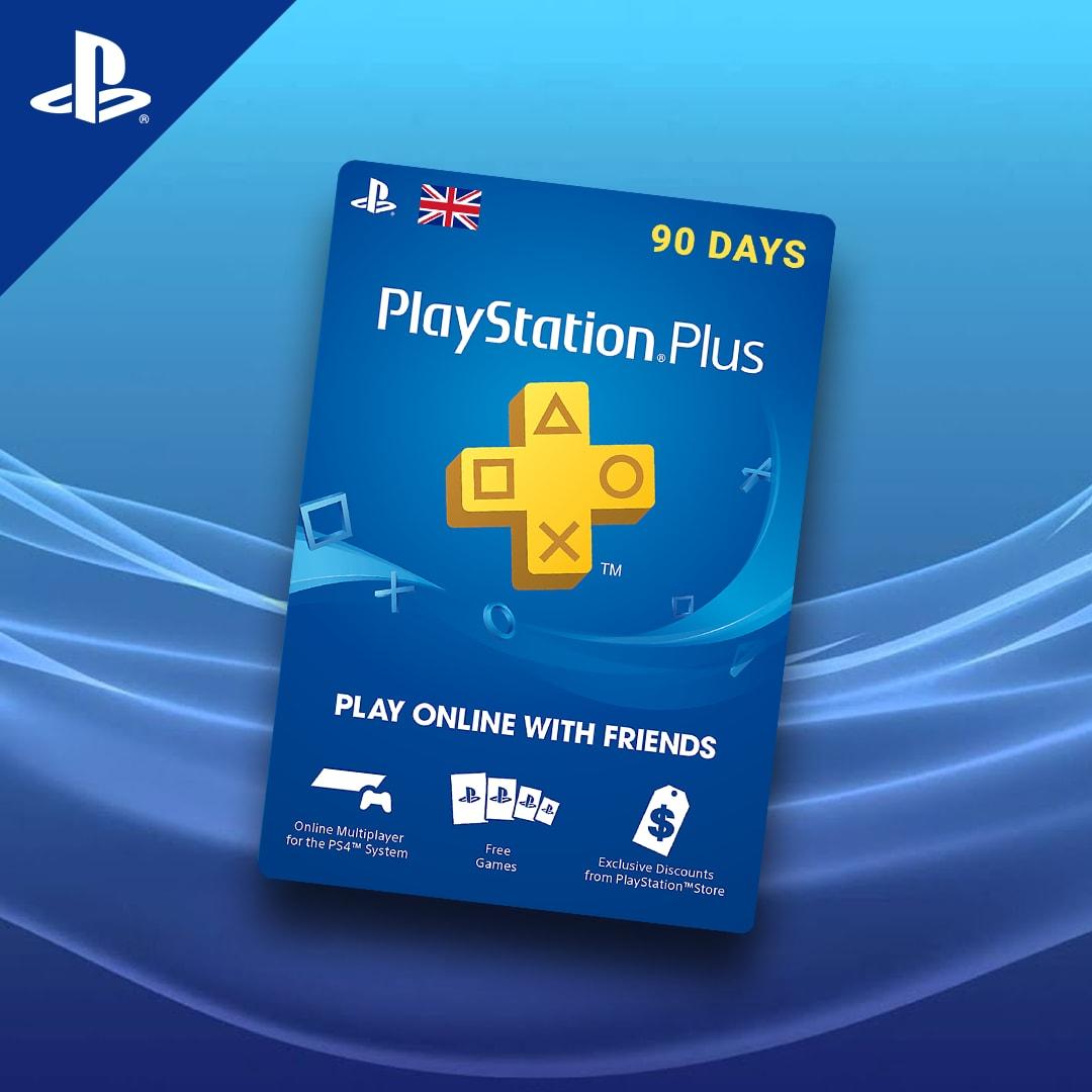 Playstation Plus CARD 90 Days PSN UNITED KINGDOM - 3