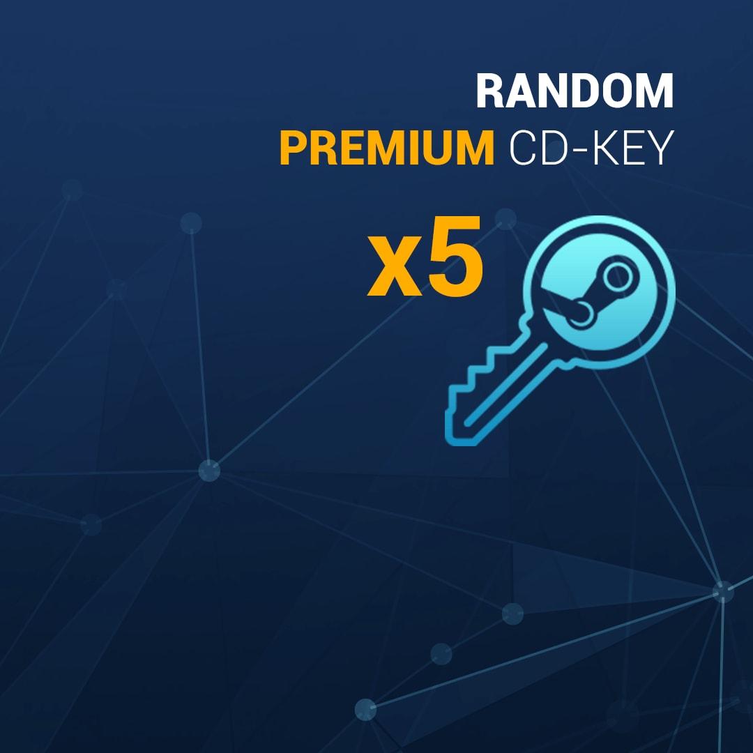 Random PREMIUM 5 Keys Steam Key GLOBAL - 2