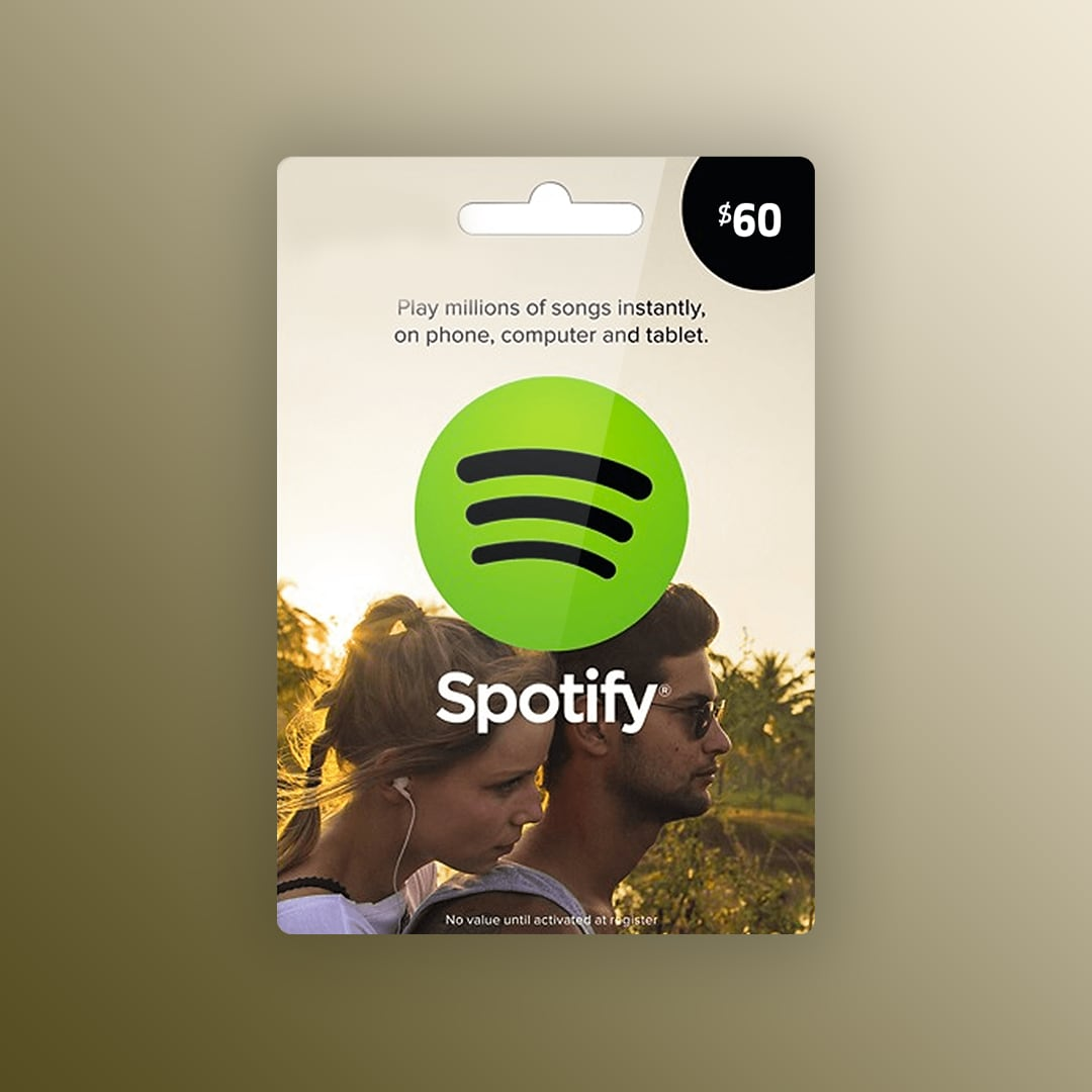 Spotify Gift Card 60 USD Spotify UNITED STATES - 1