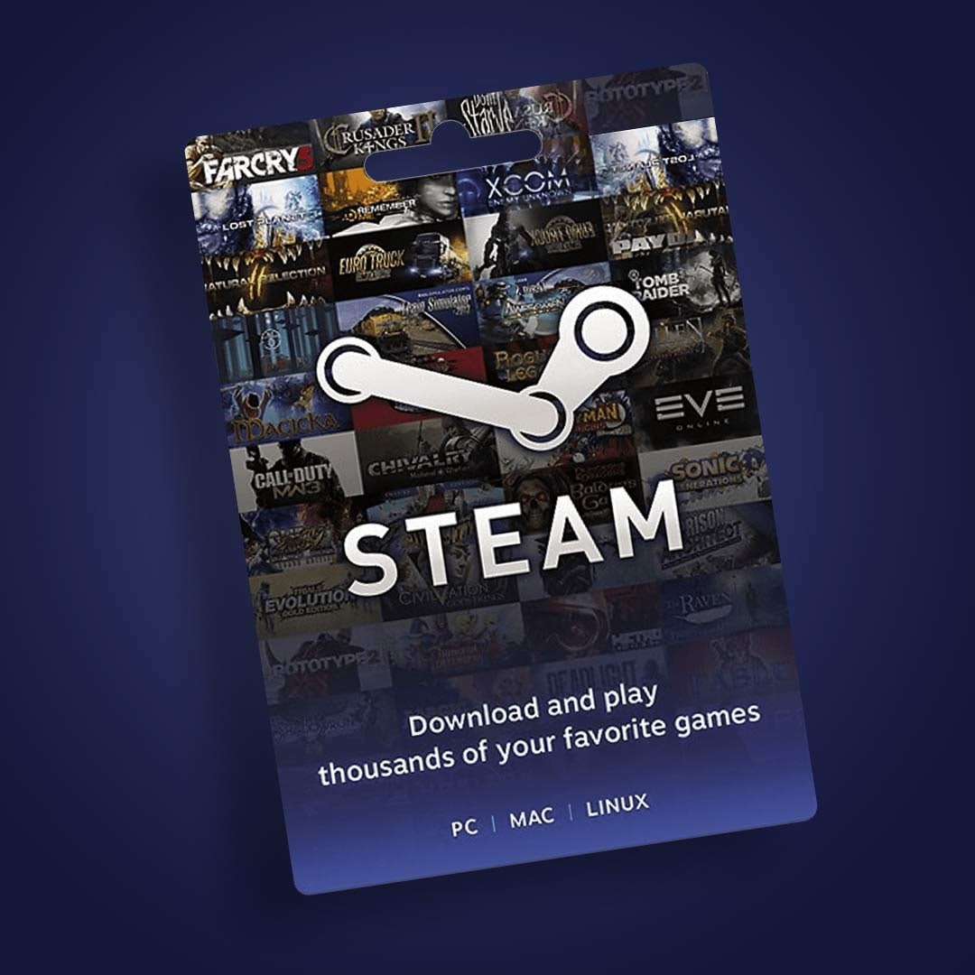 Steam Gift Card 20 USD Steam Key - For USD Currency Only - 2