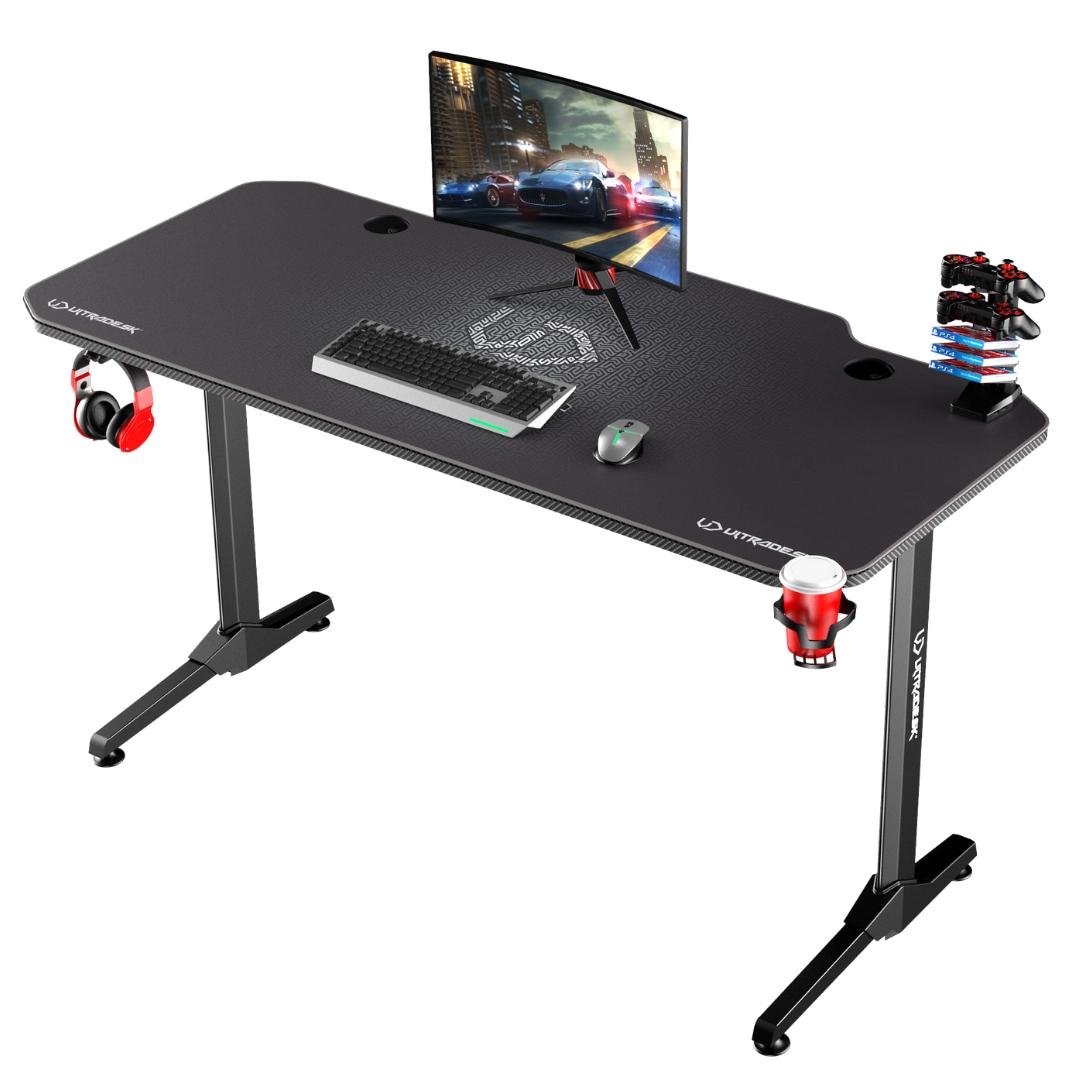 ULTRADESK FRAG GRAPHITE - gaming desk 140x66 cm Gaming - 5