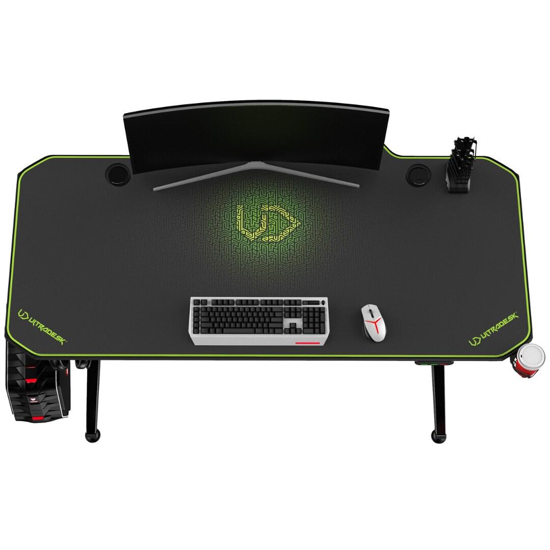 ULTRADESK LEVEL GREEN - electric gaming desk - 8