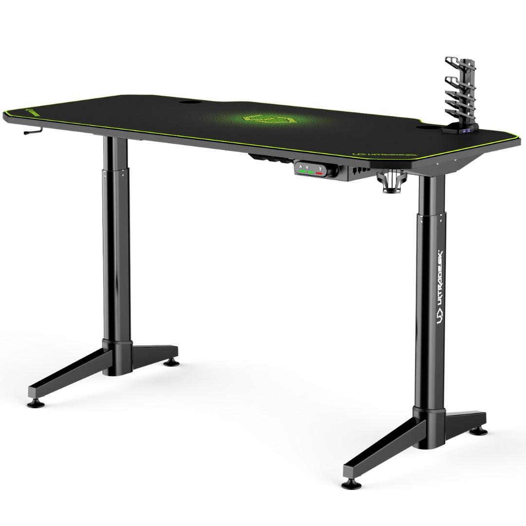 ULTRADESK LEVEL GREEN - electric gaming desk - 5